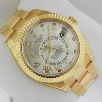 Rolex Sky Dweller 326938 Oyster Perpetual Yellow Gold NEW B&P