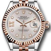 Rolex Datejust 28 279171 Sundust Diamond Roman 9 o' Clock...