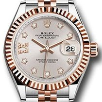 Rolex Datejust 28 279171 Sundust Diamond Roman 9 o' Clock...