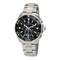 TAG Heuer Men's CAY111A.BA0927 Aquaracer Chronograph Black...