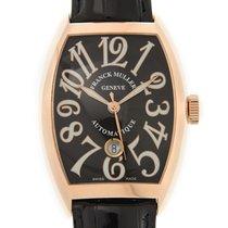 法兰克穆勒 (Franck Muller) New  Vintage 18k Rose Gold Black...