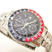 Lucien Rochat gmt cronografo acciaio automatic 40 mm box &...