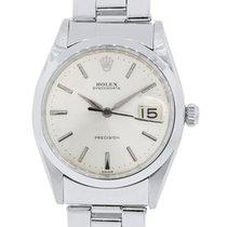 Rolex 6694 Oysterdate Precision Stainless Steel Watch