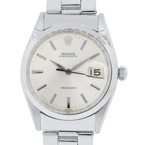 Rolex 6694 Oysterdate Precision Stainless Steel Watch
