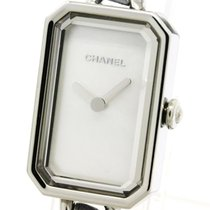 Chanel Polished Chanel Premiere Rock Pastelblue Mop Dial Steel...