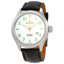 Glycine Incursore III Automatic White Dial Men's Watch