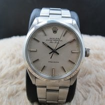 Rolex AIR KING 5500 Original Silver Dial with Folded Oyster Band