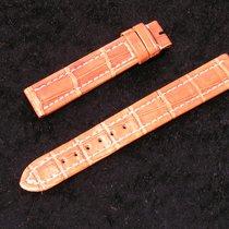Breitling Callistino Lady J Croco Armband 15/14mm Braun Np...