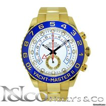 Rolex YachtMaster II - 18K Yellow Ceramic Bezel