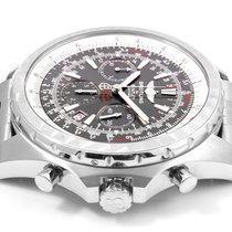 Breitling SS Bentley Motors 48mm - A25363 - Box & Papers