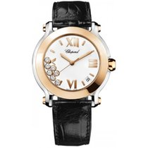 Chopard Happy Sport II 36mm 18k Rose Gold