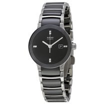 Rado Ladies R30942702 Centrix Ceramic Watch