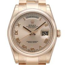 Ρολεξ (Rolex) Day-Date 36 18 kt Everose-Gold 118205 Pink Römisch