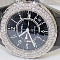 Chanel J12 Ceramic 38MM Automatic Diamonds
