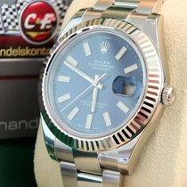 """Rolex Datejust II  41mm """"Blue"""" Neu & verklebt/  B..."""