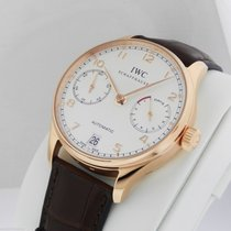 IWC Portuguese Automatic 7 Day Rose Gold IW500113 New Box +...