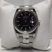 Rolex Datejust 116200 36 mm Black Dial Stainless Steel