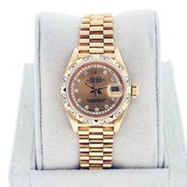 Rolex Datejust Presidential Crown Collection Ladies Watch