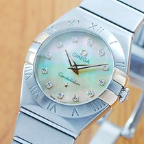 오메가 (Omega) Omega Constellation Diamonds Pearl Women's Watch