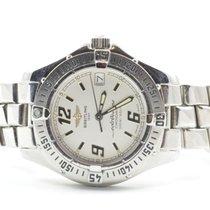 Breitling Colt Oceane Damen Uhr 32mm Stahl/stahl Quartz A57350...