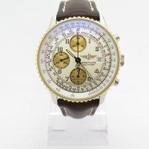 Breitling Navitimer Automatik Chronograph Stahl Gold