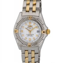 Breitling Callistino Two Tone Ladies Watch – B7234512/A543
