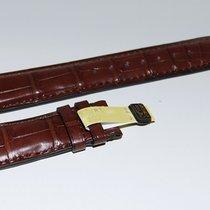 IWC CROCO Lederband braun für Faltschliesse 20/18 mm