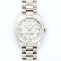 Rolex Datejust Midsize Platinum Automatic