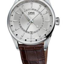 Oris Artix Pointer Moon, Date Leather Bracelet