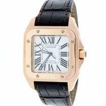 Cartier Santos 100 18K Solid Rose Gold