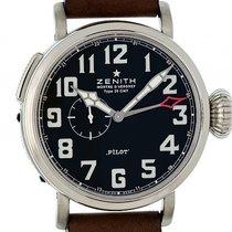 Zenith Pilot Type 20 GMT Stahl Automatik 48mm