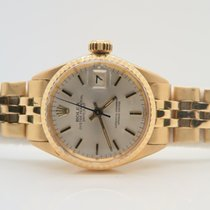Rolex Datejust 18k Yellow Gold Lady