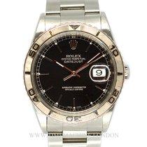 Rolex DateJust 36mm Black dial 16264
