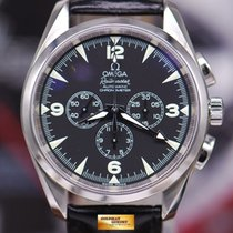 Omega Aqua Terra Railmaster 42mm Chronograph Automatic Black...