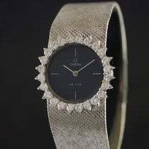 Omega De Ville Lady White Gold & Diamonds