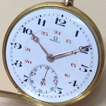 Omega Pocket Watch Gold 18k