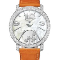 Chopard 207450-1005 Happy Diamonds in White Gold with Diamond...