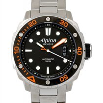 Alpina Extreme Diver Automatic Men's Watch – AL-525LBO4V26 B