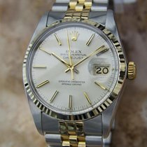Rolex 16013 Swiss Made Men 18k Gold and Stainless St All...