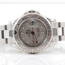 Rolex Ladies Yachtmaster - Platinum Dial - 169622