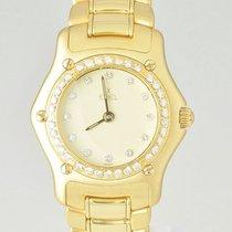 Ebel 1911 Lady Quarz 18K Gold 890910 Brillantlünette