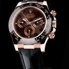 Rolex Daytona Chronograph Brown Dial Rose Gold