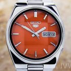 Seiko 5 Jumbo Automatic Mens Watch Made In Japan 1970 Beautifu...