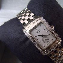 Longines Ladies DolceVita Genuine Diamonds Swiss Quartz...