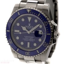 ロレックス (Rolex) Submariner Date Ref-116619LB 18k White Gold Box...