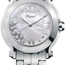 Chopard Happy Sport Round Quartz with Diamonds 36mm