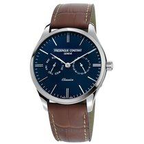 Frederique Constant Men's FC-259NT5B6 Classics Quartz Blue...