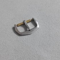 Sarcar VERY RARE 18 KT WHITE GOLD WATCH BUCKLE 14MM GOOD...