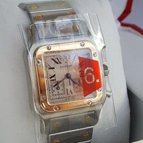 Cartier fantastic gents Santos Chronograph  stahl / Gold new...