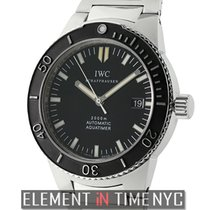 IWC Aquatimer Collection 2000 GST Stainless Steel Black Dial